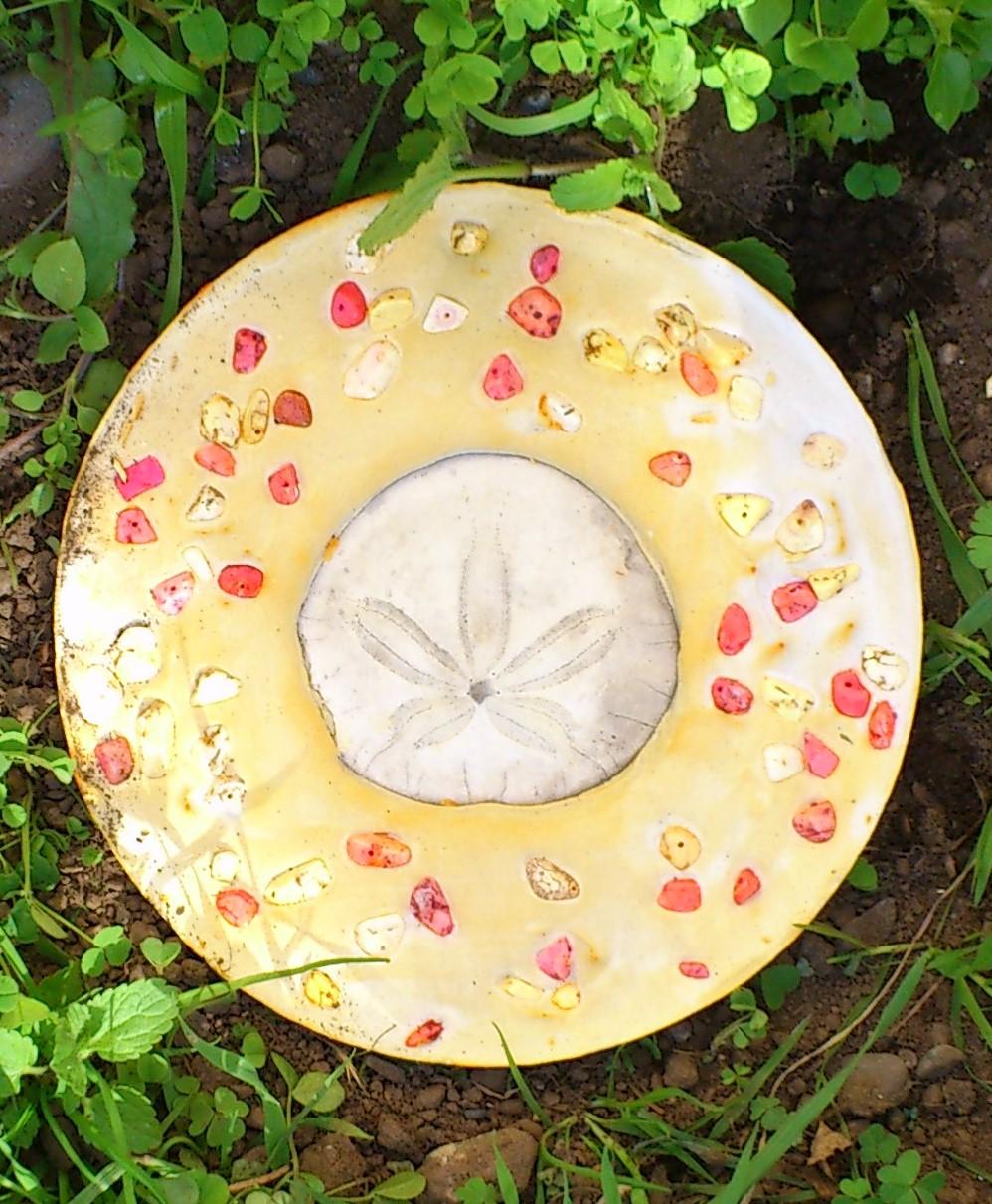 Sand Dollar Garden Stone