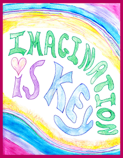 Imagination is Key