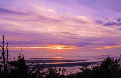 Lavender Fire Sunset