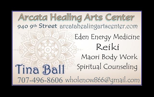 Biz Card Arcata Healing Arts