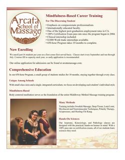 Arcata School of Massge Page 1