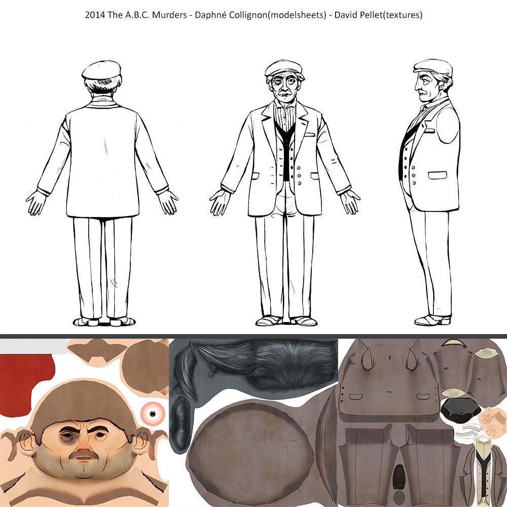2014_The A.B.C.Murders_Daphné-Collignon(modelsheets)_David-Pellet(texture)_Franz.Ascher