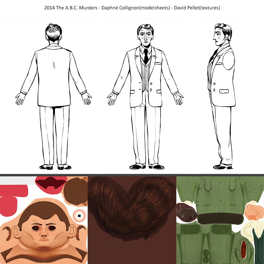 2014_The A.B.C.Murders_Daphné-Collignon(modelsheets)_David-Pellet(texture)_Donald.Frazer