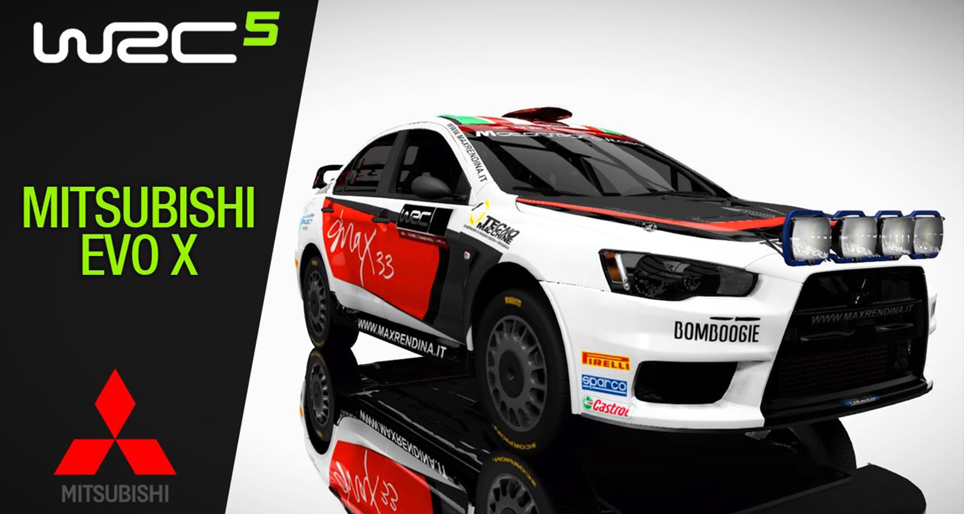 WRC5_Mitsubishi evo X_01