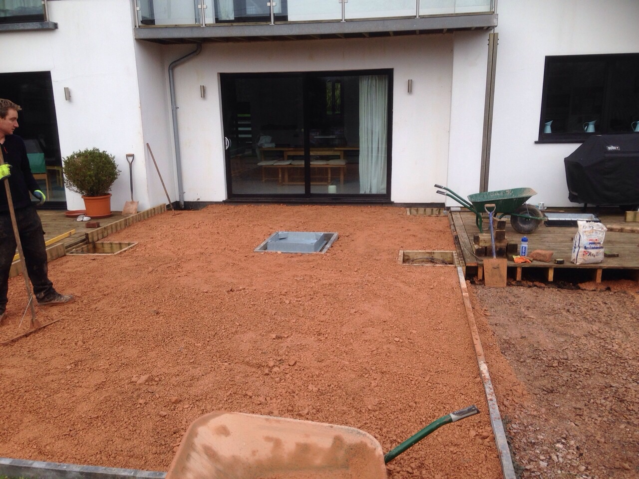 Lympstone garden prepped and ready