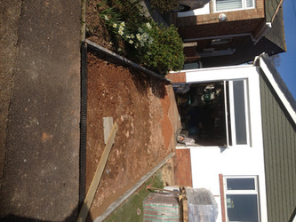 Driveway in Exmouth