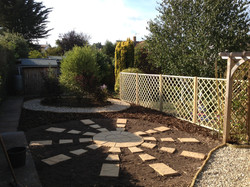 Landscaping complete
