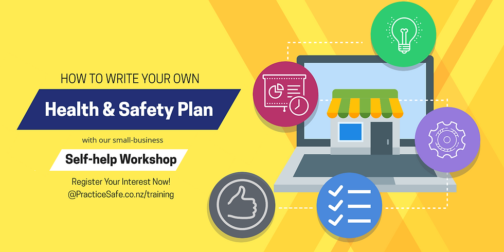 Your Health & Safety Plan - a Self-Help Workshop