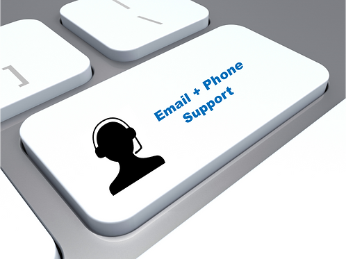 Email + Phone Support Services (subscribe below)