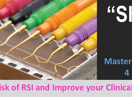 Are your dental Instruments Sharp? Reduce RSI and improve your clinical performance.