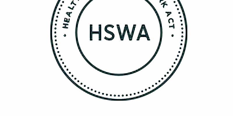 Introduction to HSWA Roles and Responsibilities in the Dental Environment.