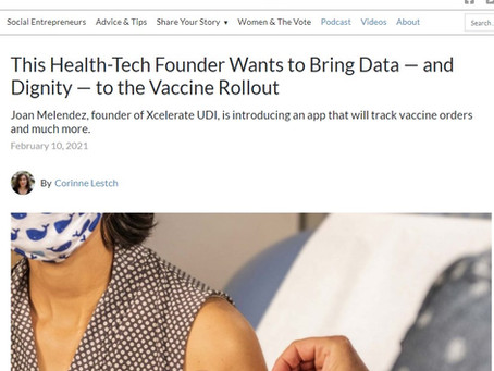 The Story Exchange. Technology can help save this vaccine rollout. Xcelrate UDI