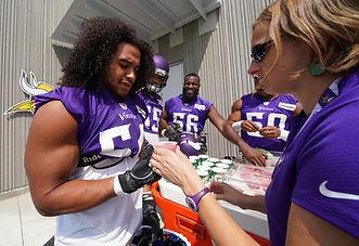 Rasa Nutrition, Rasa Troup, Minnesota Vikings, Nutrition
