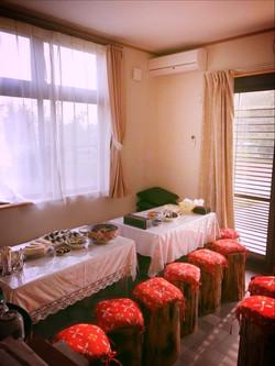 月兎園 宿泊部屋内