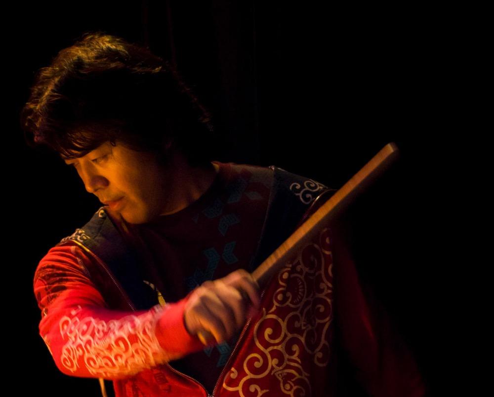 和太鼓奏者 岡村柳侍