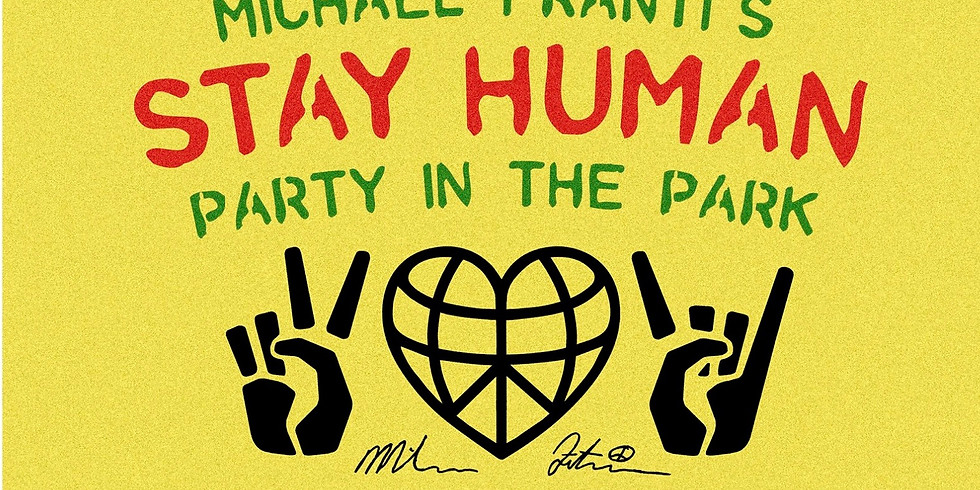 Party In The Park: Yoga PopUP with Michael Franti
