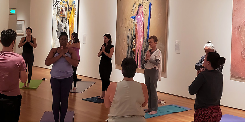 Mindful Museum: Yoga in the Galleries