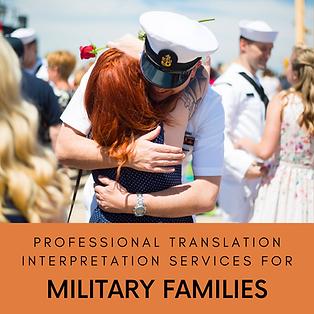 us military families translation interpr