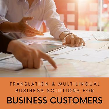 corporate customers translation interpre