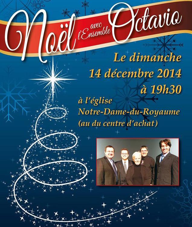 Déc. 2014 Noël Ensemble Octavio