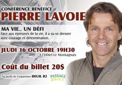 Oct. 2014 Conférence Pierre Lavoie