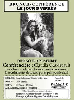 2012 18 nov Brunch-conference Claudia Gaudreaultpetit.jpg