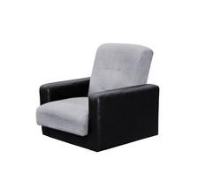 77-01110-2 Кресло Лондон рогожка  серая