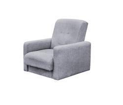 77-0111-2  Кресло Лондон-2 рогожка  серая 1