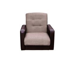 77-0113-2 Кресло Лондон рогожка микс коричневая 1