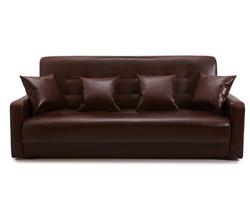 77-0103 Диван Аккорд тёмно-коричневый 1