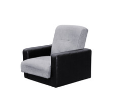 77-01110кр Комплект Лондон рогожка  серая (диван+2 кресла)4