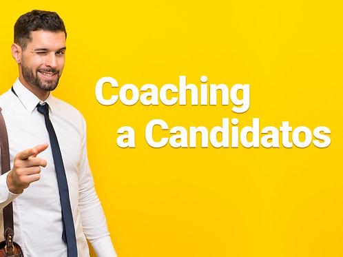 Coaching a candidatos