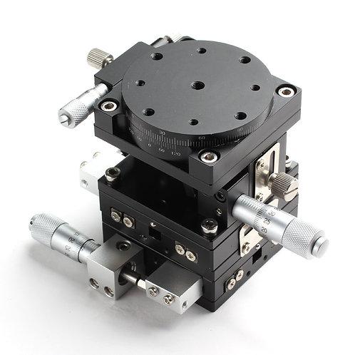 XYZR 60x60mm Manual Microstages