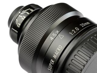 Zhongyi (Mitakon) 20mm 4-4.5X F/2 Super Macro Lens