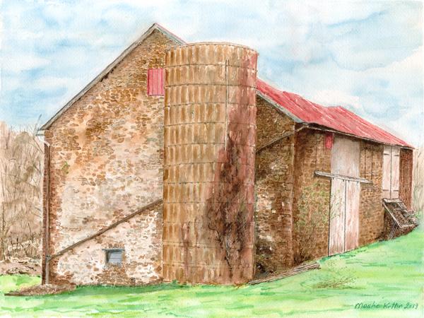Brick-Barn