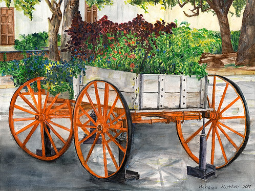 Savannah Flower-Cart