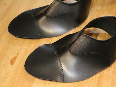 ハンドソーンワークショップ~本靴:アッパー縫製~
