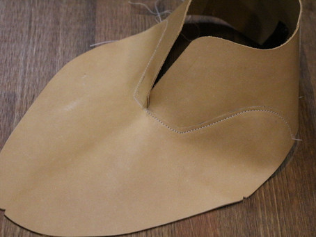 ハンドソーンワークショップ~本靴:ライニング縫製~