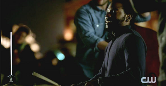 "Julian Addison Drummer on ""The Vampire Diaries"""