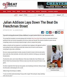 "Julian Addison Drummer Buzzfeed.com 10 Secrets about ""The Vampire Diaries"" spinoff ""The Originals"""