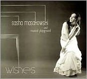 "Julian Addison Drummer Sasha Masakowski ""Wishes"" cd cover art"