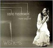 """Julian Addison Drummer Sasha Masakowski """"Wishes"""" cd cover art"""