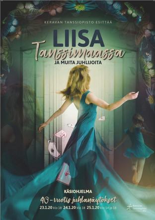Keravan tanssiopisto - Liisa tanssimaassa (Dance Performance)