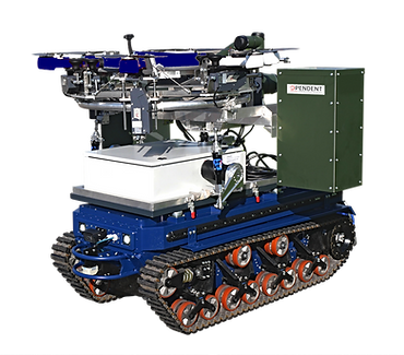 D-LOG One UGV Payload - Drone logistics station mountable on an unmanned ground vehicle
