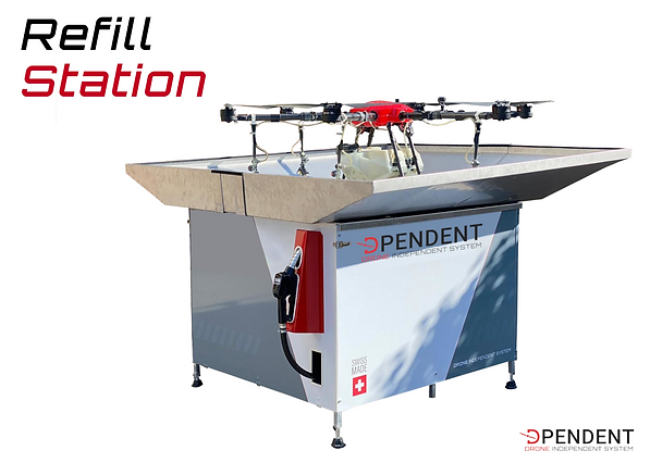 Dpendent - Refill Station - refilling of agricultural treatment liquids with comfort of use, security & respect of legal norms