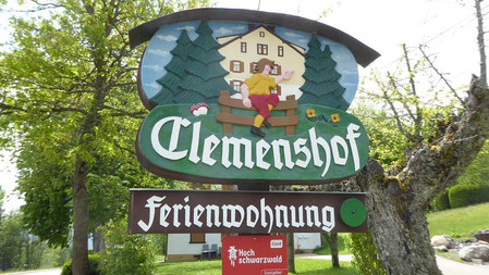 Ferienwohnung Clemenshof Feldberg Falkau