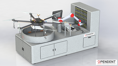 D-Log One RS (Refill System) - drone batteries swapping for agriculture & viticulture 1
