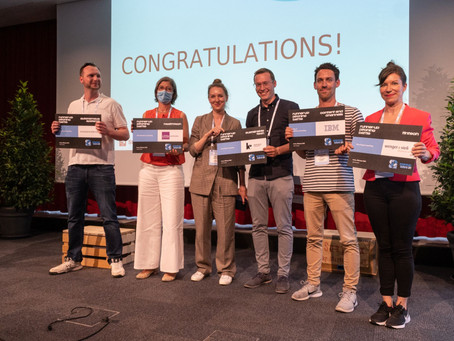 Qualification into the Top 10 at the startup days pitching battle semis