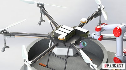 D-Log One RS (Refill System) - drone batteries swapping for agriculture & viticulture 2