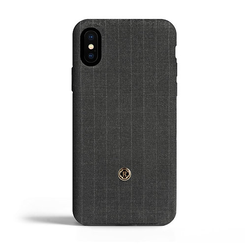 Cover per Iphone X - Pinstripe - Legendary grey | Revested